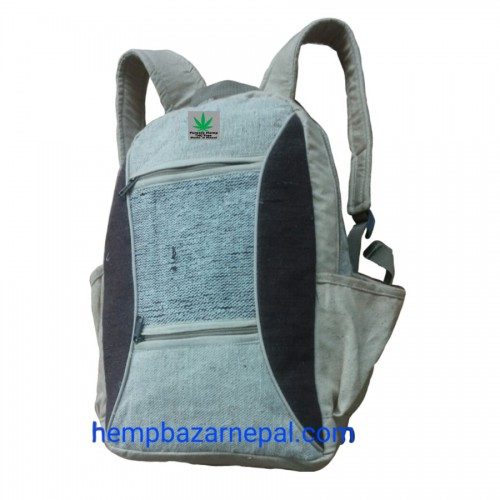 GREEN HEMP BACKPACK