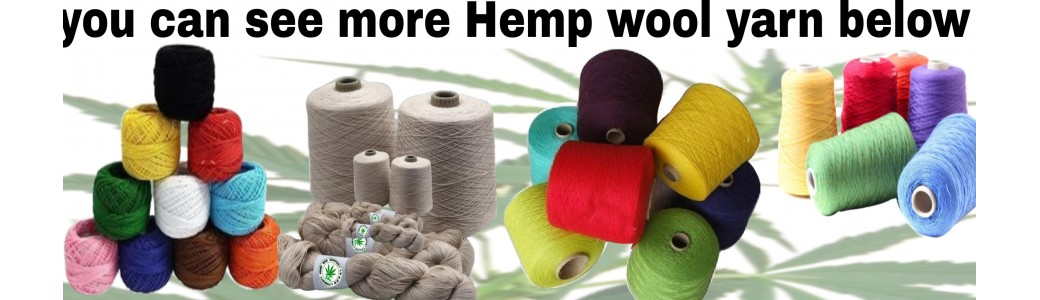 HEMP WOOL YARN