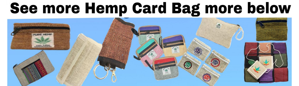 HEMP CARD BAG