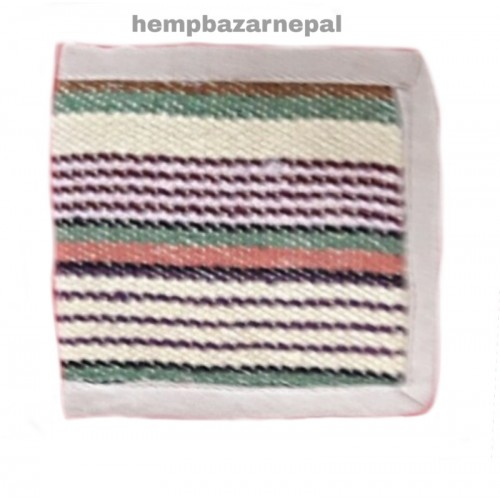 hemp cotton wallet